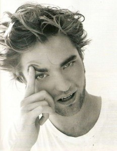 Attractive & Nice Looking  Robert Pattinson's Wild hairstyle