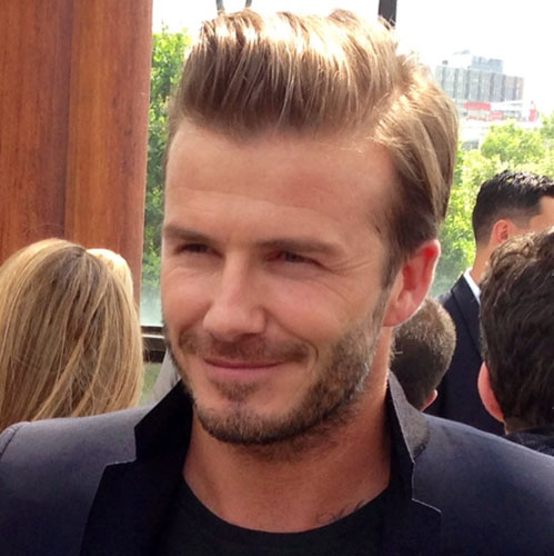 Attractive Haircuts David Beckham 2014