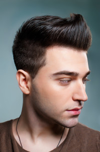Dashing Look Mens Quiff Hairstyle 2014