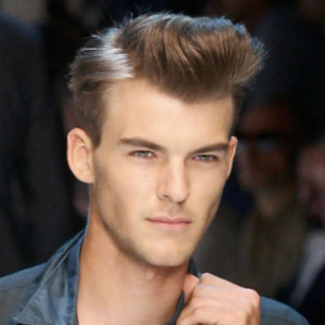 Dashing Look Pompadour Hairstyle for Men
