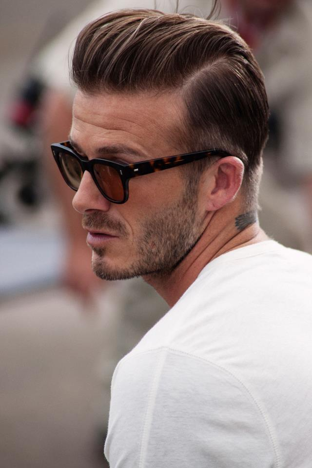 David Beckham Hairstyle Lovely Photos
