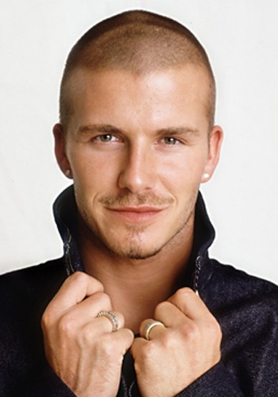 David Beckham Very Short Buzz Cut Hairstyle for men