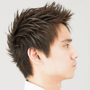 Decent Asian Men Spiky Hairstyles 2014