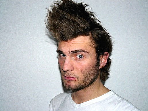 Dence Spiky Hairstyles for Men