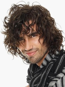 Dense Curly Hairstyle Ideas for men