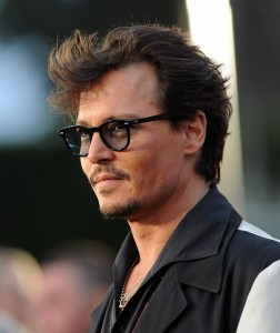 Johnny Depp's Long Hairstyle Latest Images