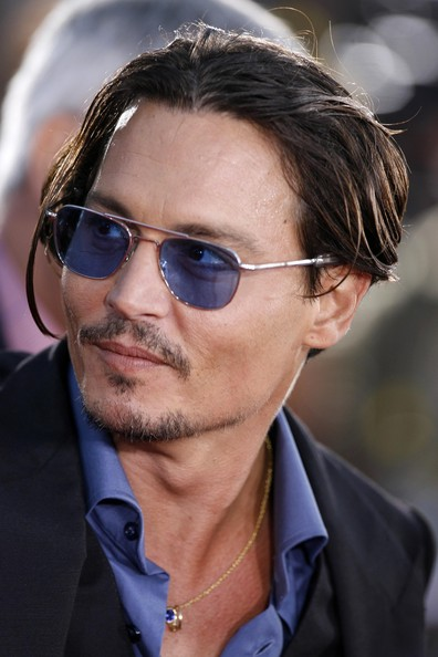 Johnny Depp Hairstyle Picture in HD