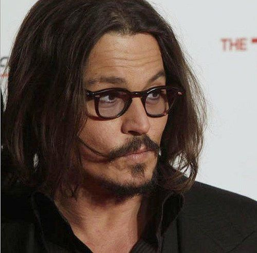 Johnny Depp long hairstyle Best Ideas