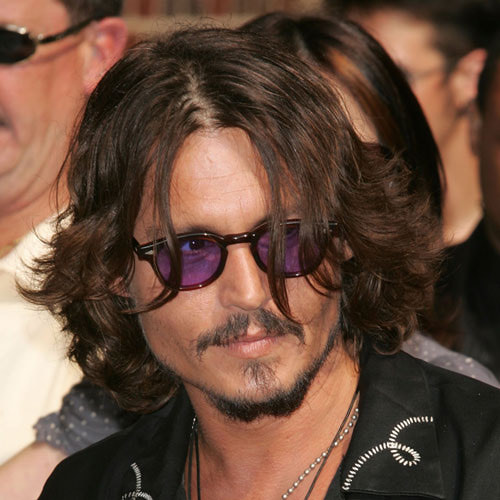 Johnny Depp's Carefree hairstyle HD Wallpapers