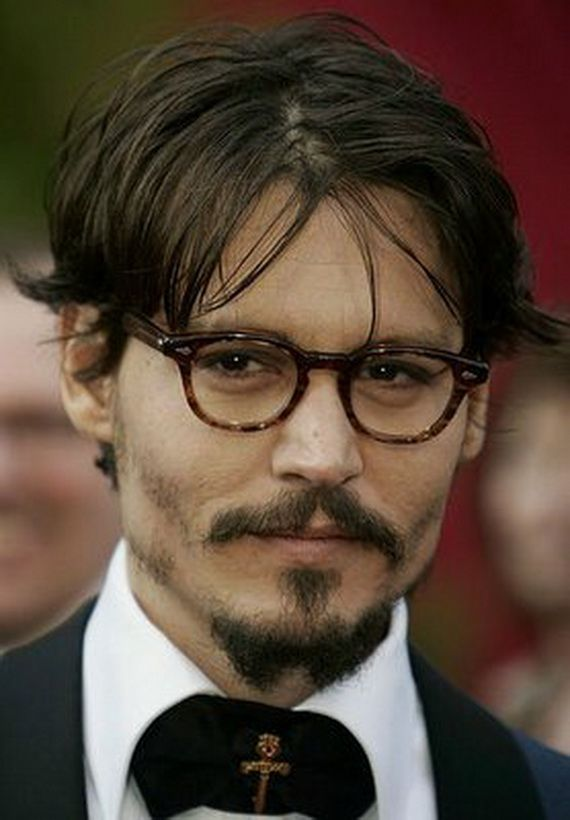 Johnny Depp's Hairstyles Nice Looking