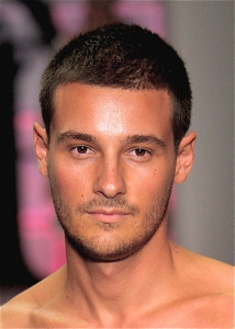 Men's Buzz Cut Hairstyle 2014