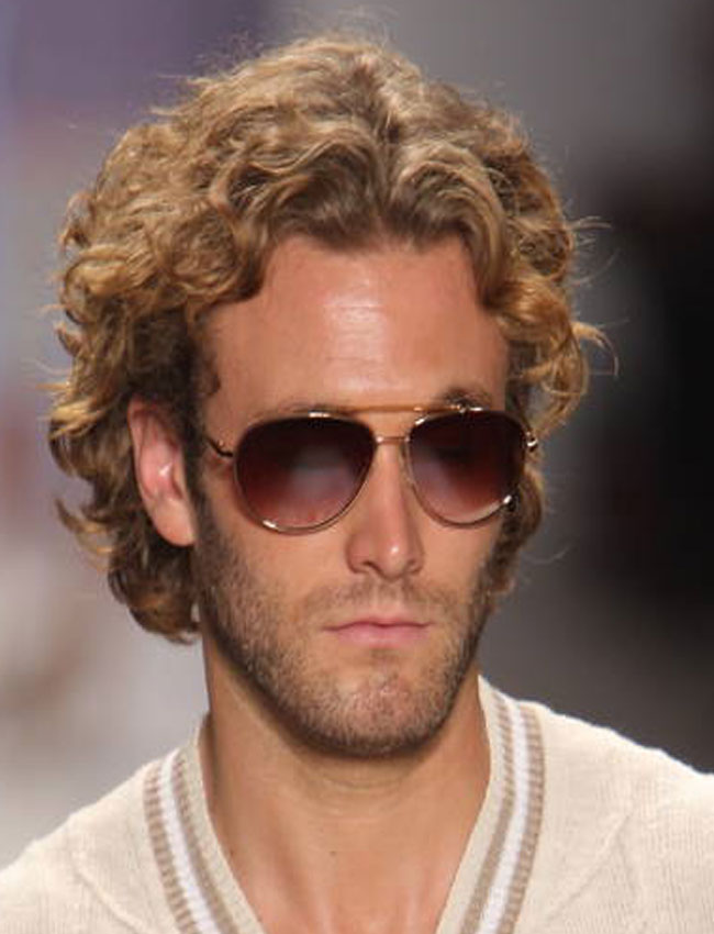 mens curly medium length hairstyles mens New Pics