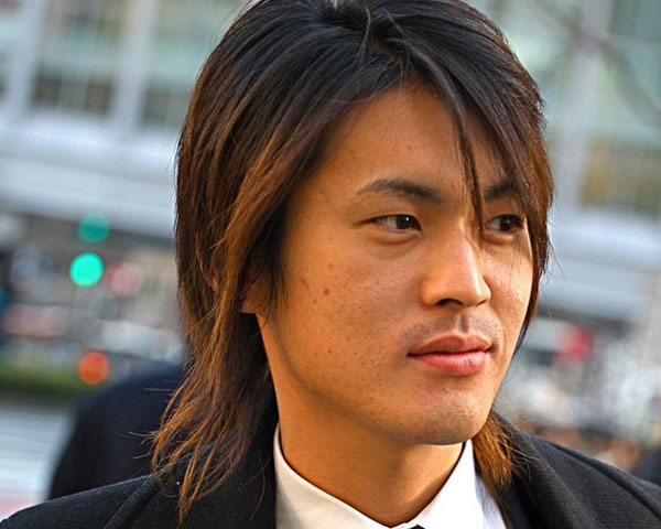mens long layered hairstyles HQ Images