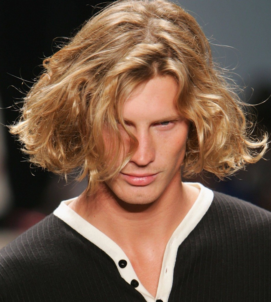 Mens Long Popular hairstyle 2013