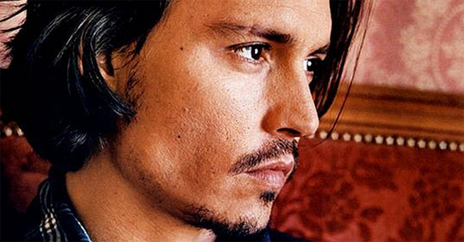 New Photos Johnny Depp's hairstyle