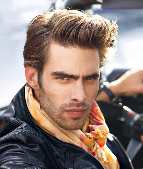 Photo of Jon Kortajarena pompadour hairstyle 2014 in HD