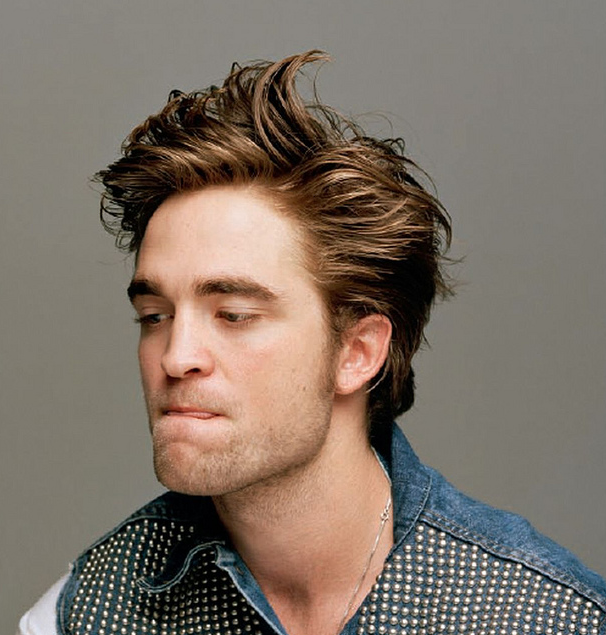 Robert Pattinson in Dossier Magazine New Hairstyle Pics