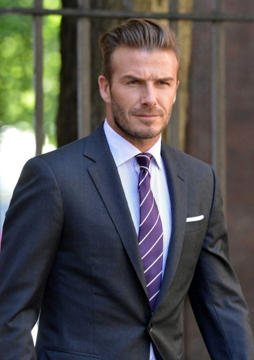 Stunning 2014 David Beckham Hairstyles