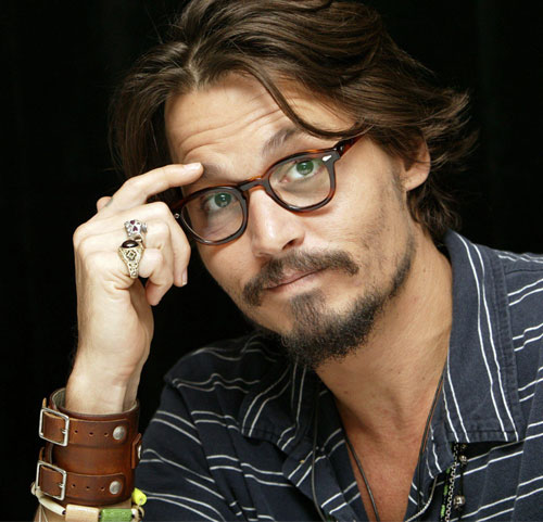 Tattoo Hairstyle Johnny Depp's Nice Pics