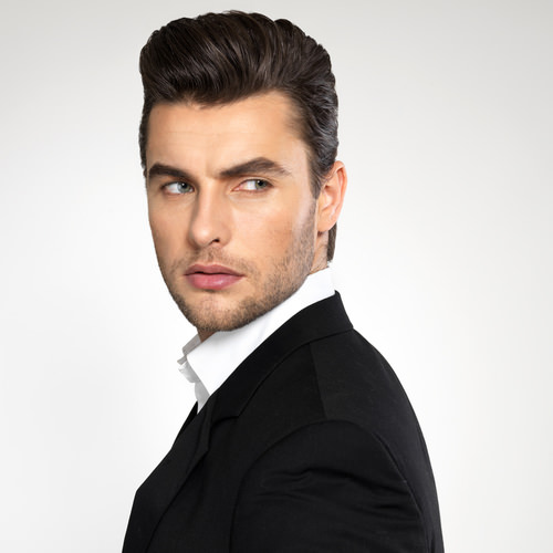 The Modern Pompadour Hairstyle New Images