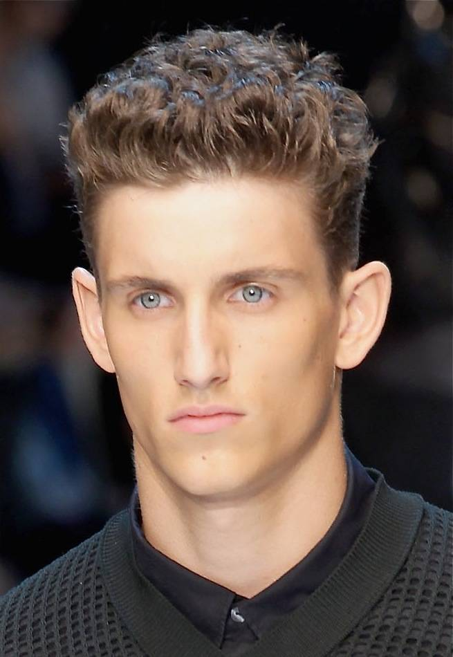 Thick Hair Men Image Haircuts Best Pics Mens Hairstyles Trend