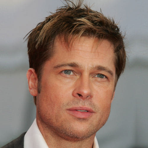 Awesome Brad Pitt Hairstyles