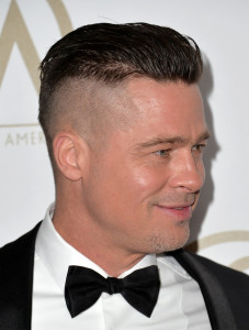 Brad Pitt Hairstyles Top Hair