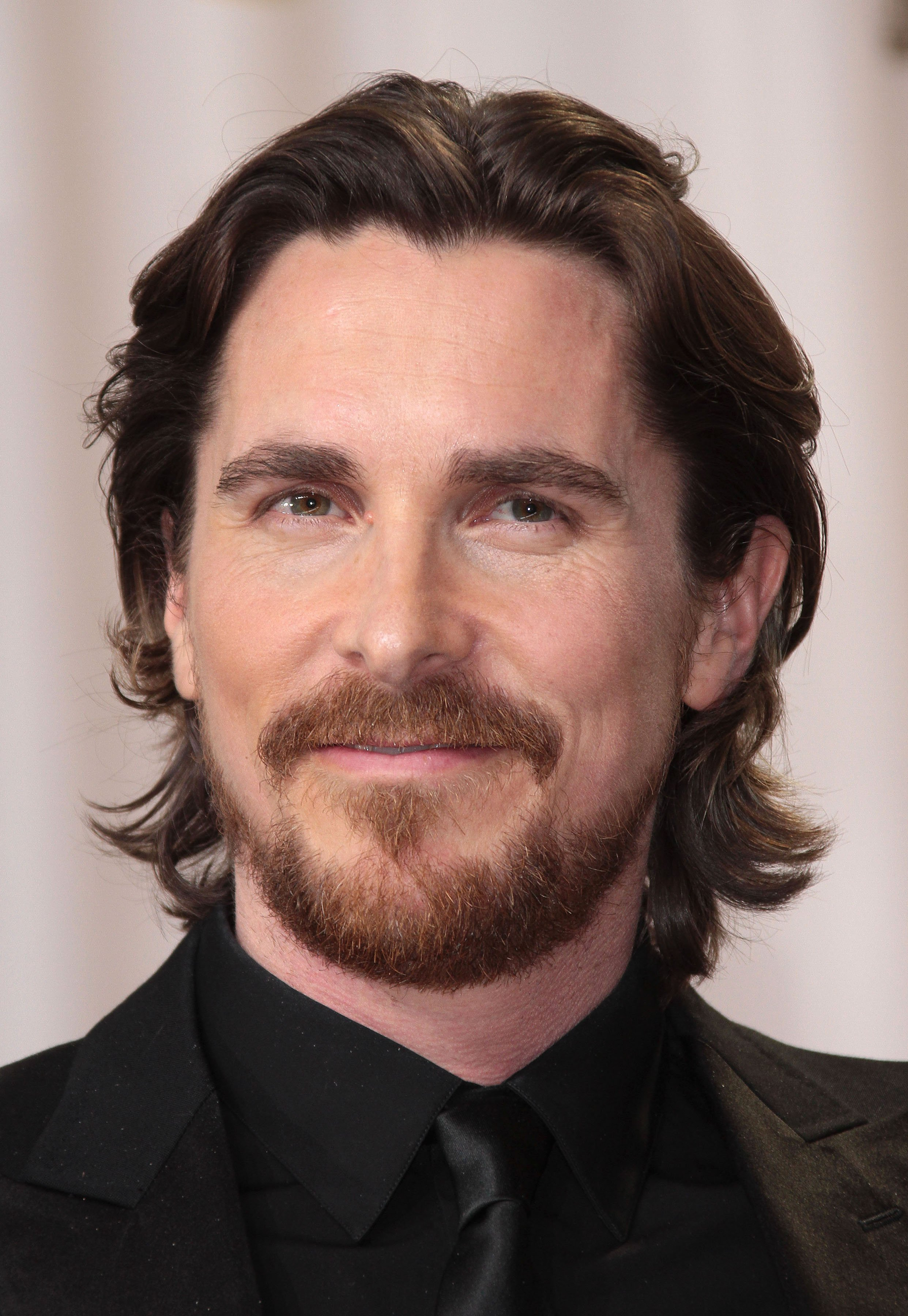 Charming Christian Bale Hairstyle
