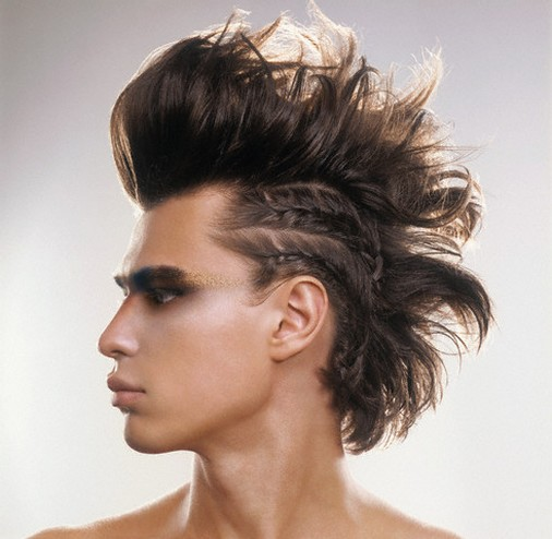 Punk Rock Mohawk Hairstyles For Men Extreme Haircut
