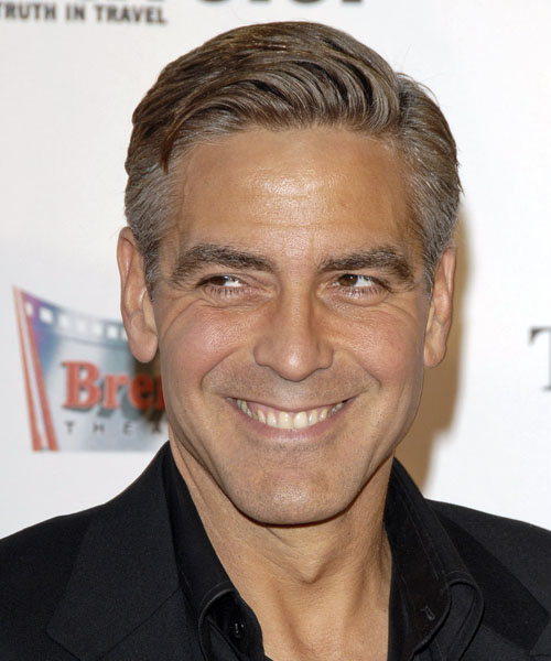 Stylish George Clooney Hairstyle 2014