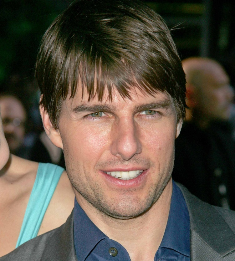TOM CRUISE LAYERED HAIR Nice Hairstyle