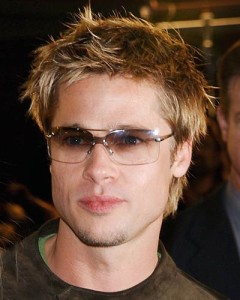 Young Brad Pitt Hairstyles