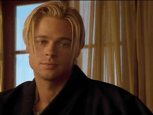 Younger Brad Pitt Hairstyles Long